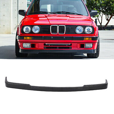 $58 • Buy For 84-92 BMW E30 3-SERIES LOWER VALANCE M-TECH  STYLE FRONT BUMPER LIP SPOILER