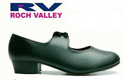 Tap Dance Shoes With Toe And Heel Taps Roch Valley • 9.99£