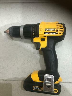 DEWALT DCD785 18V XR LI-ION 2 Speed Combi Hammer Drill Driver+1X1.3AH BATTERY • 21.60£