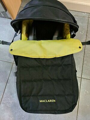 Maclaren Carry Cot To Use With The Techno XLR Manufactured From January 2012 • 5£