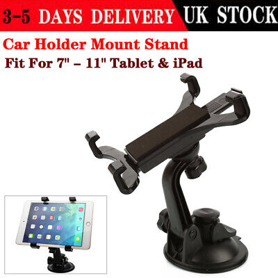 Adjustable Universal In Car Suction Mount Holder For IPad Galaxy Tablet 7 To 11  • 9.35£