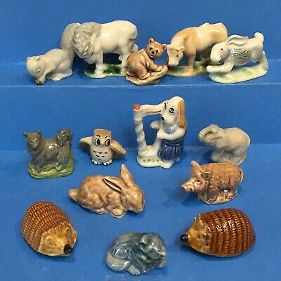 14x WADE WHIMSIES First Series Hare & Cub, Harpy Band Dog, Happy Family Owl,  • 13£