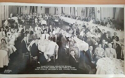 $32.95 • Buy The Military Order Of The Purple Heart National Convention Photo Chicago 1936