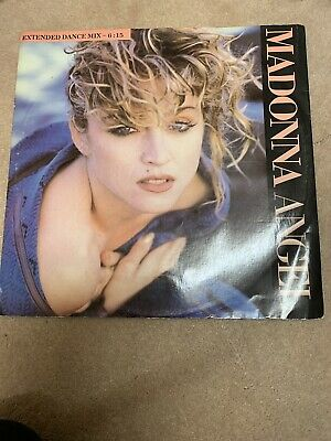 Madonna Angel Vinyl 12 Inch Single UK First Pressing 1985 Extended Mix • 6£