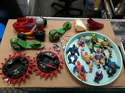 $13.50 • Buy Motu He-Man Masters Of The Universe Vintage 80's Toys Vehicle Parts Lot