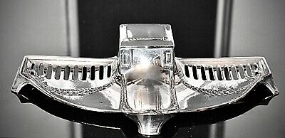 $ CDN162.44 • Buy WMF Superb Silver Plated Art Nouveau Inkstand With Original Glass Inkwell Signed