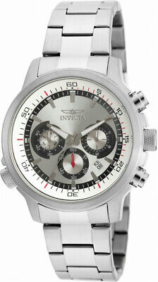 Invicta Specialty 19239 Men's Round Analog Chronograph Date Silver Tone Watch • 33.65£