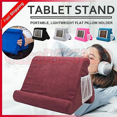 AU14.45 • Buy Tablet Pillow Stands For IPad Book Reader Holder Rest Laps Reading Cushion AU