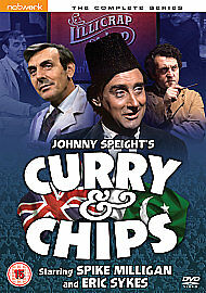 Curry And Chips - The Complete Series (DVD, 2010) • 6.98£