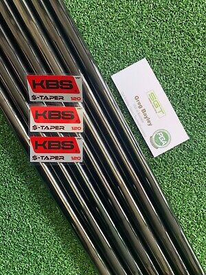 AU665 • Buy KBS $ TAPER 120 Stiff Shafts PVD Certified Dealer 4-P 7 Pieces .355 Taper Tip