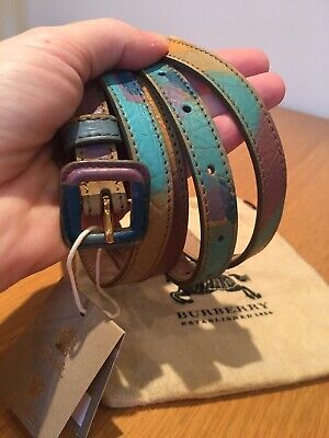 NEW Burberry Prorsum Long Leather Belt • 49.99£