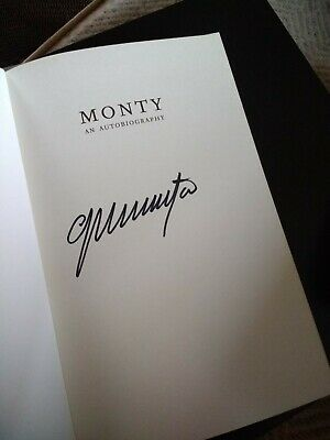 Monty: The Autobiography By Colin Montgomerie - Signed Copy • 1.30£