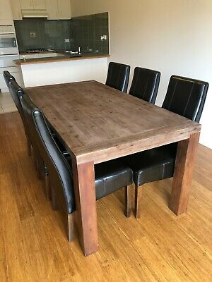 AU550 • Buy Dining Table And 6 X Chairs