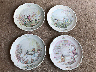 Royal Doulton Wind In The Willows Plates • 2.80£