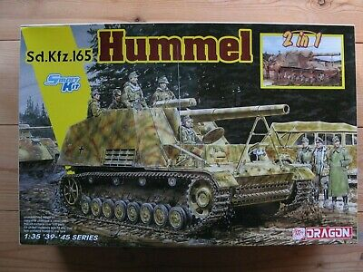 Dragon 6935 Hummel 2 In 1 Kit Plus Figures 1:35 • 14.50£