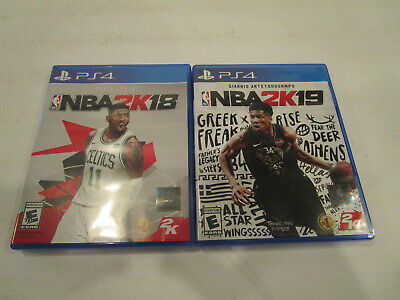 $ CDN14.51 • Buy NBA 2K18 & NBA 2K19  For  Ps4 Used In  Very Good Condition  Free Shipping