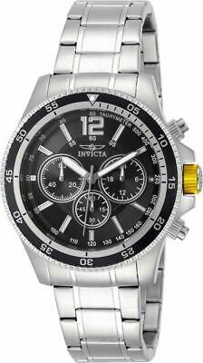 Invicta Specialty 13973 Men's Round Black Chronograph Analog Watch • 9.03£