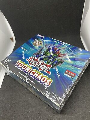 Yugioh Sealed 1st Edition Toon Chaos Booster Box • 175£