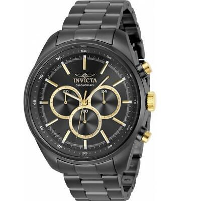 Invicta Specialty 29165 Men's Gunmetal And Gold-Tone 24 Hour Chrongraph Watch • 7.68£