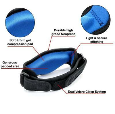 Tennis Elbow Brace Strap Tendonitis Golfers Gel Band Golf Relief Support OR • 5.68£