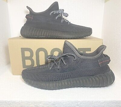 $ CDN381.17 • Buy Adidas Yeezy Boost 350 V2 Black Non-Reflective Size 12 FU9006 100% AUTHENTIC