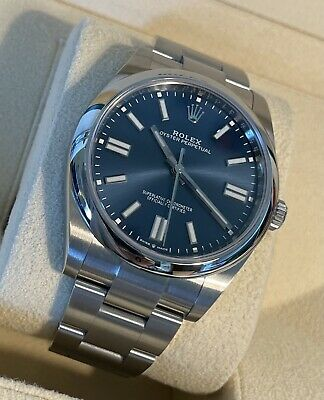 $ CDN11322.83 • Buy Rolex Oyster Perpetual 124300 Blue Dial Box And Papers UNUSED
