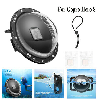 AU58.82 • Buy SHOOT Waterproof Underwater Camera Diving Cover Dome Case For Gopro Hero8 Camera