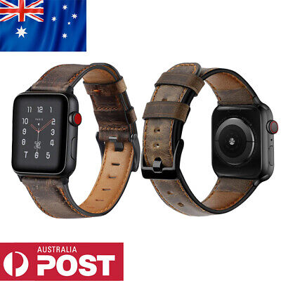 AU15 • Buy Genuine Leather Strap IWatch Band For Apple Watch Series 6 5 4 3 2 SE 40mm 44