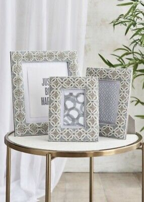 Gorgeous Next Geo Beaded Photo Picture Frame 6x4 • 9£