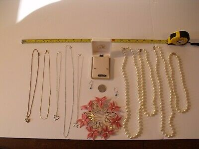 $ CDN12.69 • Buy Vintage Costume Jewelry Lot Pre-Owned, Ear Rings, Neckless, Other Item