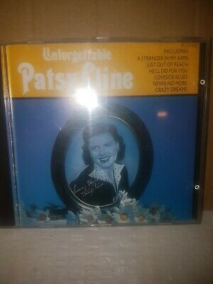 Patsy Cline - Unforgettable CD (1986) • 0.99£