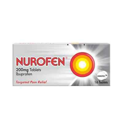 Nurafen 200mg Tablets  - 12, 16, 24 | Pain Relief | Anti-Inflammatory MAX 2  • 5.29£