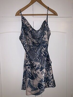 Topshop Size 8 Silky Dress Mini Tie Back • 10£