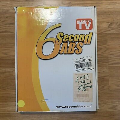 AU69.85 • Buy NEW 6 Second Abs — Workout At Home — As Seen On TV SX100 - Open Box