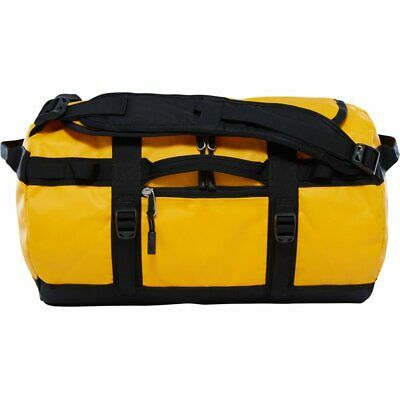 The North Face Base Camp Duffel Xs Summit Gold Tnf Black New Duffle Bag Suitcase • 98.64£