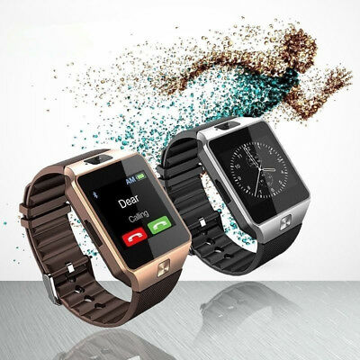 AU32.36 • Buy NEW Rose Gold Smart Watch Bluetooth Camera Phone For Android Stainless Steel A5
