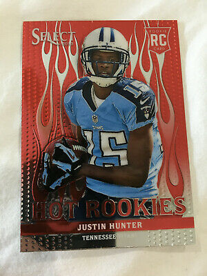 $9.99 • Buy Justin Hunter Rookie Select 2013 Hot Rookies Tennessee Football Card