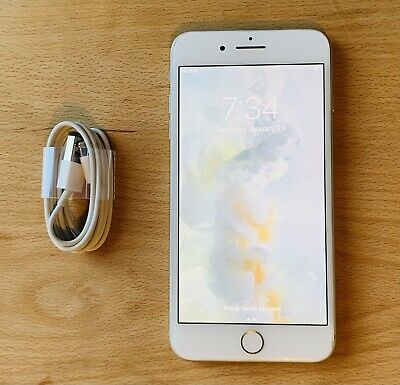 Apple IPhone 8 PLUS  - 64GB Silver Unlocked - Excellent Clean Condition • 209.99£