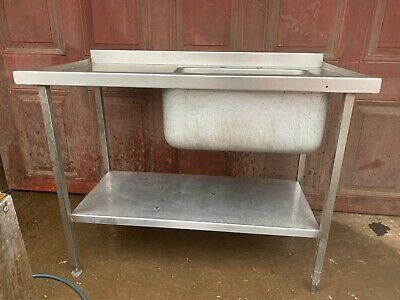 Stainless Steel Commercial Kitchen Sink • 60£