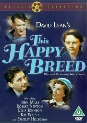 £14.95 • Buy This Happy Breed Dvd John Mills Brand New & Factory Sealed (1944)