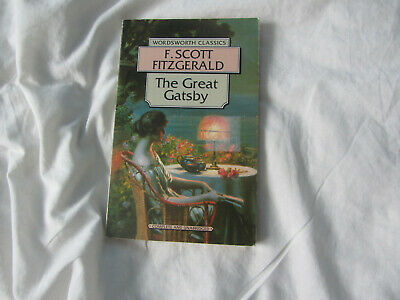 The Great Gatsby By F. Scott Fitzgerald (Paperback, 1992) Book • 3.20£