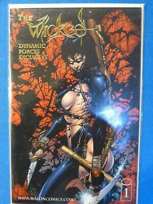 The Wicked #1 Dynamic Forces Exclusive Foil Alternate Cover With Coa 1999 • 1.99£