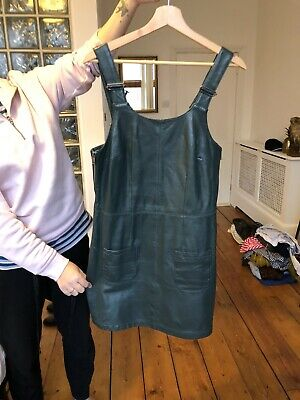 Topshop Boutique Leather Dress Size 8 (Alexa Ching Style) • 1.60£
