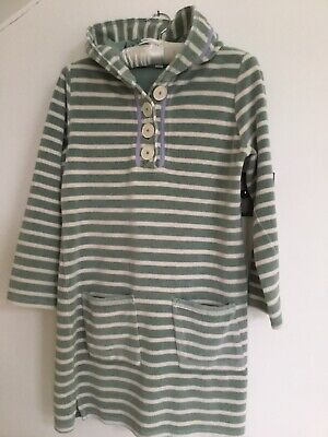 BODEN Hooded Towelling DRESS / BATH ROBE Size 6 -8 • 5.99£