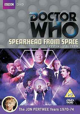 Doctor Who Spearhead From Space (Special Edition) Dr Who Disc & Box & Insert NEW • 2.99£