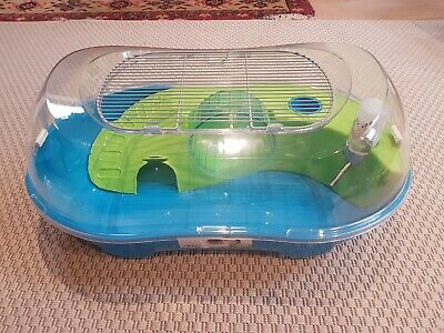 Savic Mouse And Dwarf Hamster Cage, 'Spelos Xl Entry' Model, Excellent Condition • 5£