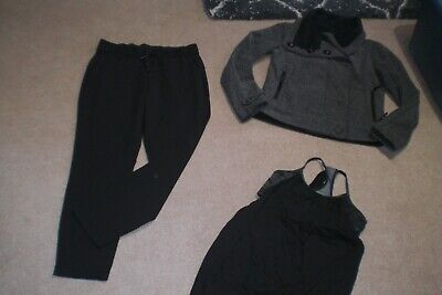 $ CDN125 • Buy  Lot Of Lululemon On The Fly Pants,  Audrey Jacket And Tank Sz 6