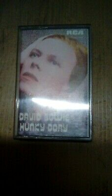David Bowie Hunky Dory Cassette Tape • 4.95£