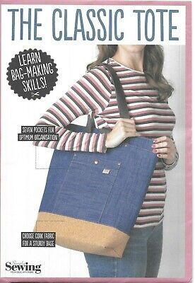 £5.95 • Buy Simply Sewing Pattern For The Classic Tote, Learn Bag Making Skills, New