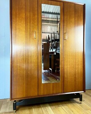 Vintage E Gomme Labrenza Wardrobe (Delivery Available) • 165£